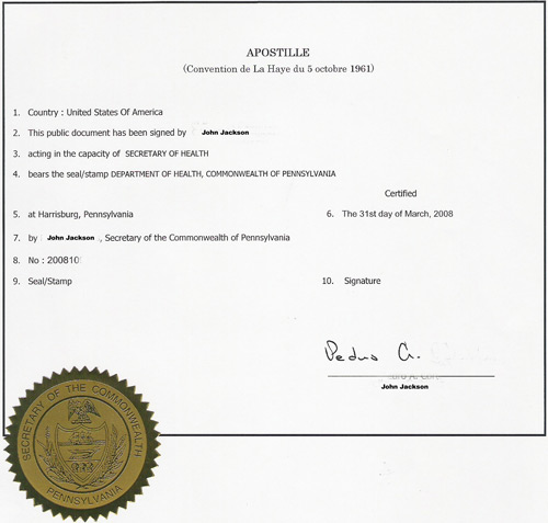 Apostille and Legalization services for Ukrainian documents