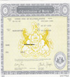 Ukrainian certified translation of birth certificate
